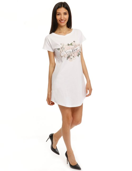 Vestito Pepe Jeans t-shirt - Bianco