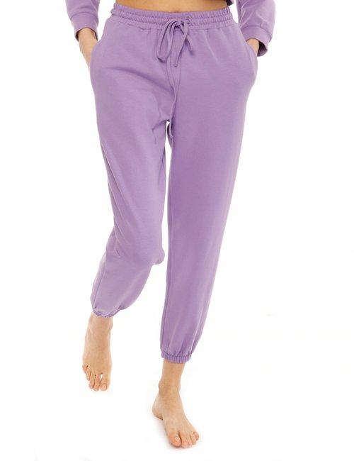 Pantalone Vougue in cotone - Viola