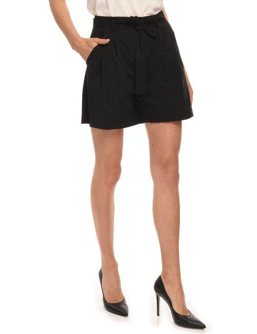 Shorts 100% cotone - Nero