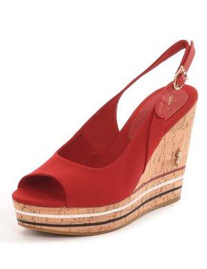 Sandalo U.S. Polo Assn. in tessuto