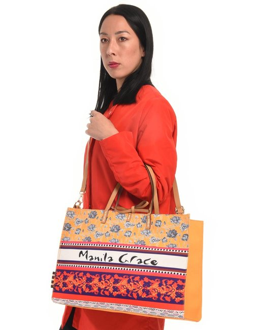 Borsa Manila Grace con inserto estraibile - Giallo