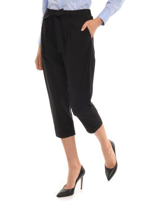 Pantalone Vougue in cotone - Nero