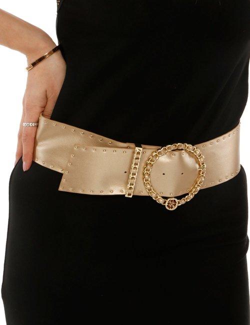 Cintura Guess con borchie - Oro