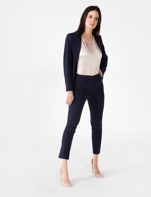 Pantalone Vougue capri - Blu Scuro