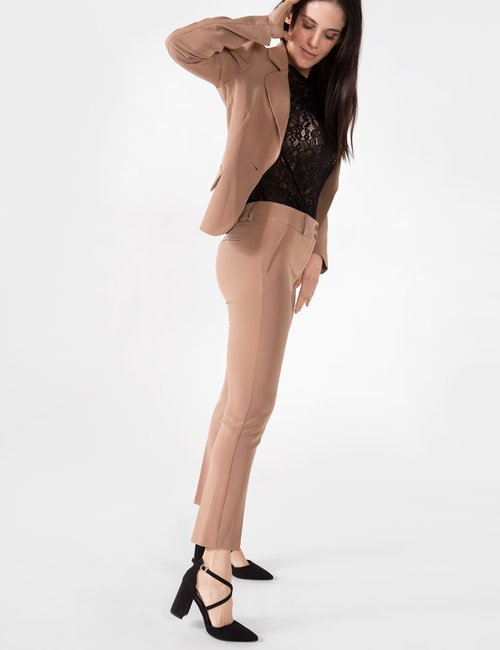 Pantalone Vougue capri - Marrone