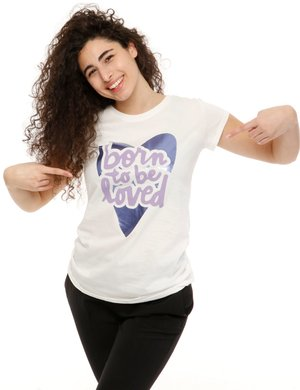 T-shirt Vougue con stampa