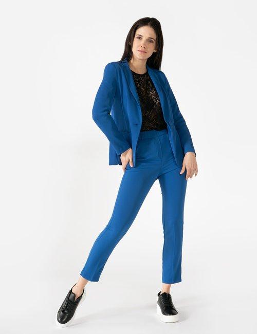 Blazer Vougue con bottone - Blu