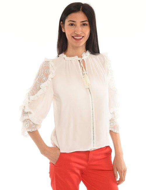 Camicia Liu Jo volant - Bianco
