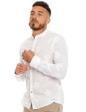 Camicia Fred Mello in cotone ricamato