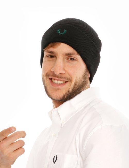 Cappello Fred Perry con logo colorato - Nero