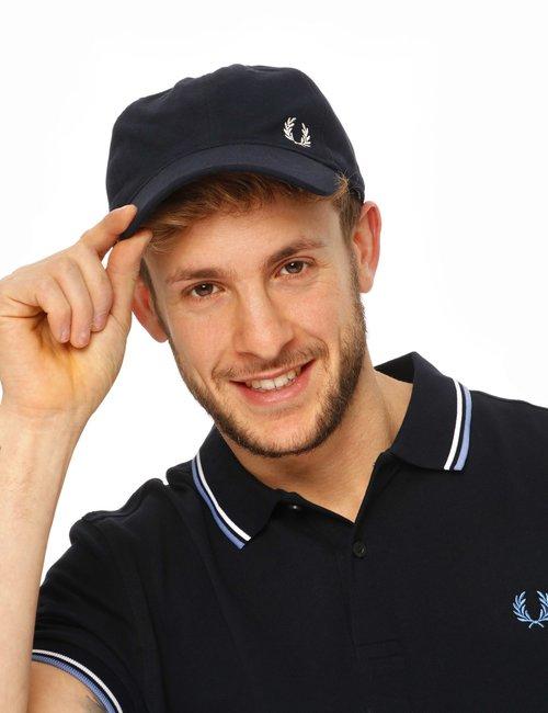 Cappello Fred Perry con visiera - Blu