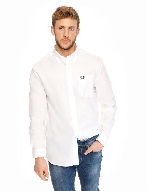 Camicia Fred Perry in cotone - Bianco