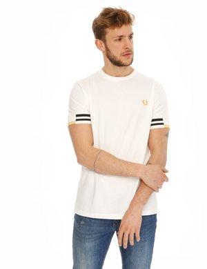 T-shirt Fred Perry con maniche elastiche