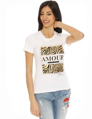 T-shirt Fracomina stampata