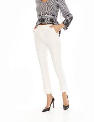 Pantalone Fracomina con risvolto