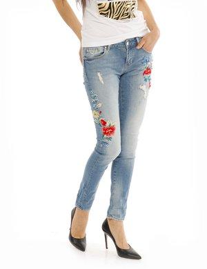 Jeans fracomina con ricami