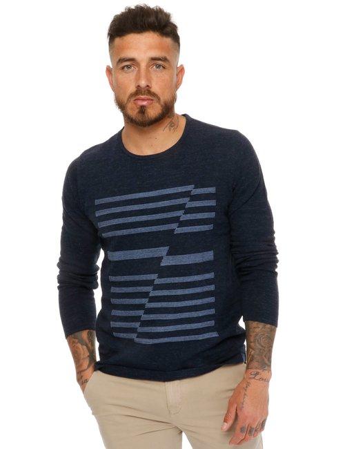 Maglione Calvin Klein in cotone - Blu