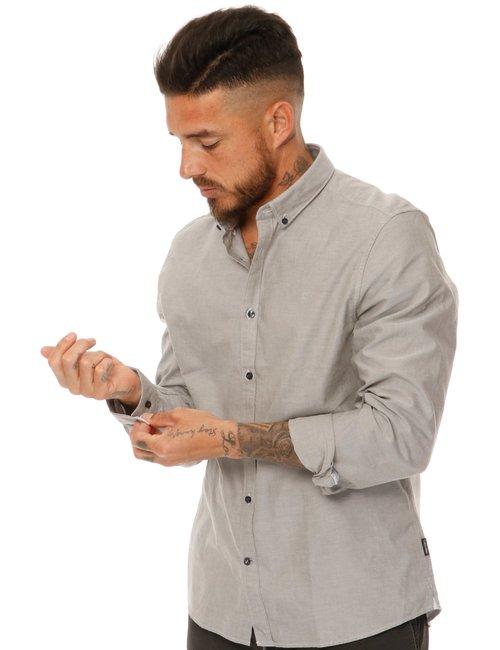 Camicia Calvin Klein button down - Grigio
