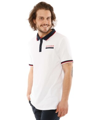 Polo  Guess con bordi a contrasto