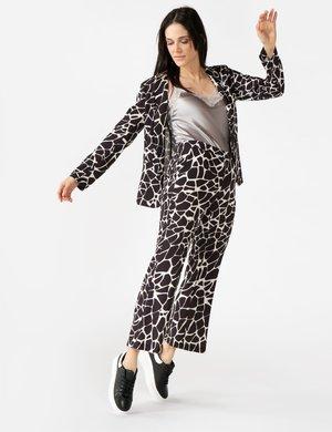 Pantalone Vougue fantasia con zip