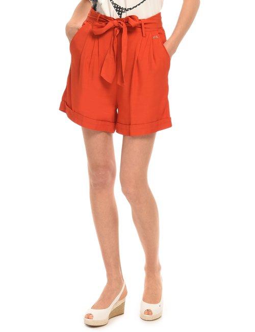 Shorts Yes Zee con cintura - Arancione