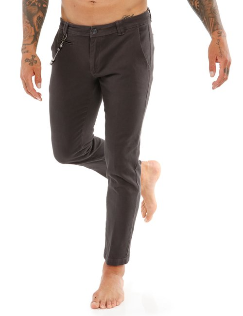 Pantalone Yes Zee microtexture - Grigio