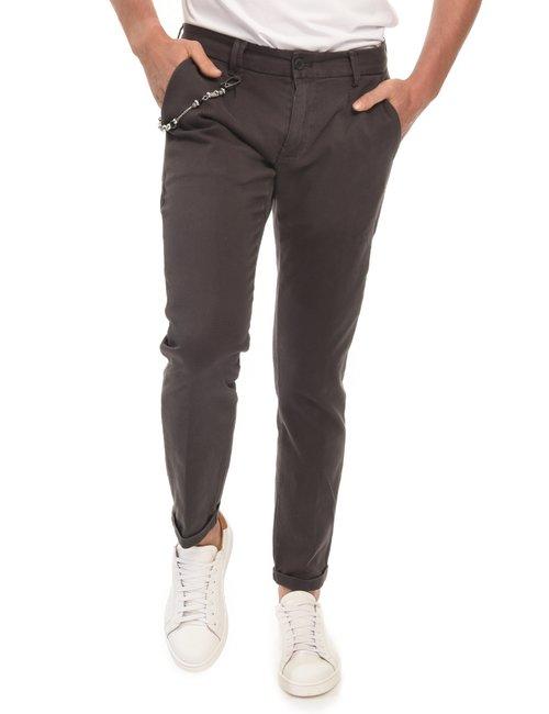 Pantalone Yes Zee  regular fit - Marrone