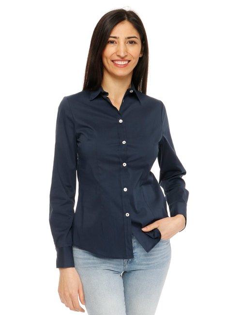Camicia Vougue a maniche lunghe - Blu