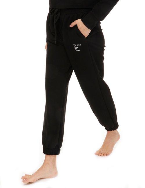 Pantalone Vougue con dettaglio - Nero