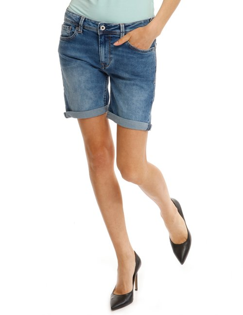 Shorts Pepe Jeans effetto vintage - Jeans