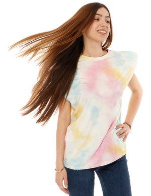 T-shirt Vougue con dettaglio su spalla