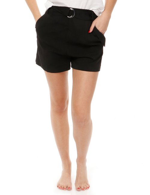 Short Guess con cintura - Nero