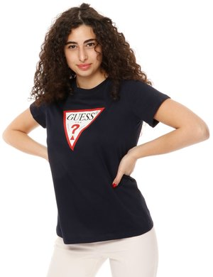 T-shirt Guess con logo stampato