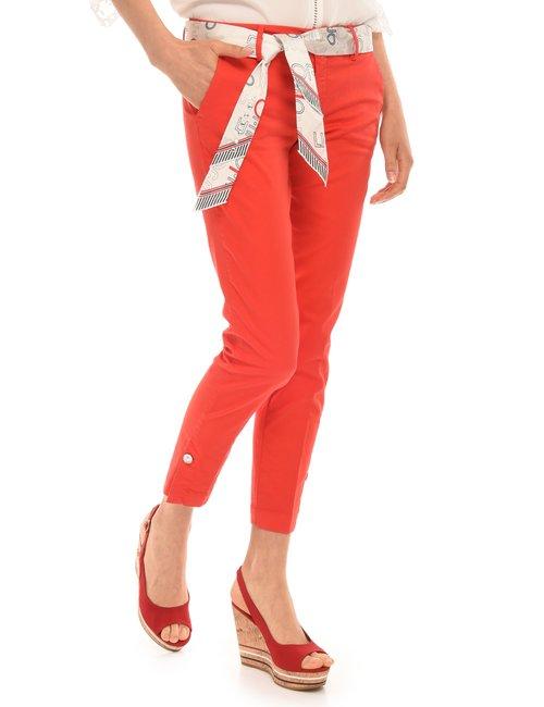 Pantalone Liu Jo con cintura - Rosso
