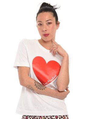 T-shirt Love Moschino cuore