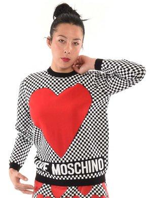 Maglia Love Moschino cuore