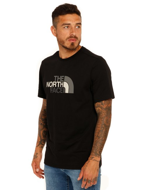 T-shirt The North Face logo bicolor - Nero