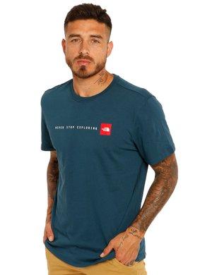 T-shirt The North Face con scritta