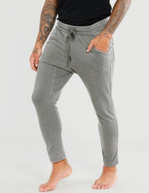 Pantalone Berna con tasche - Verde