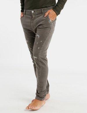 Pantalone Berna effetto macchia