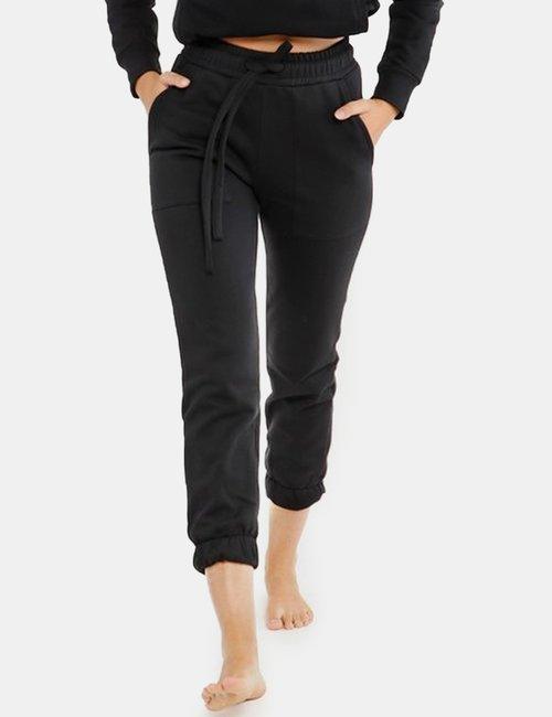 Pantalone Concept83 con tasche - Nero