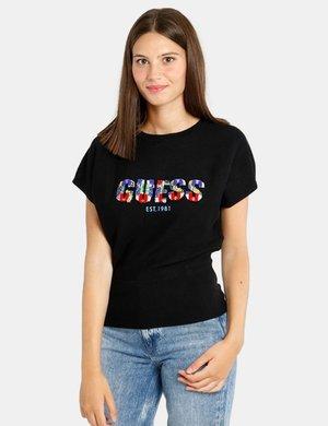 Maglia  Guess con logo colorato
