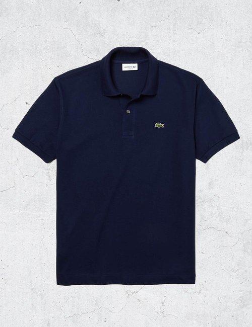 Polo Lacoste classic fit - Blu
