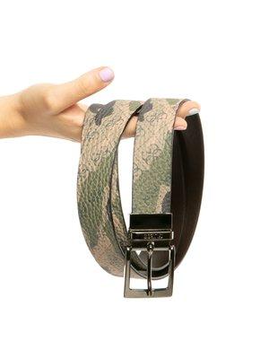 Cintura Guess con logo all-over