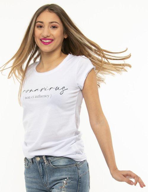 T-shirt Seconda Strada in cotone - Bianco