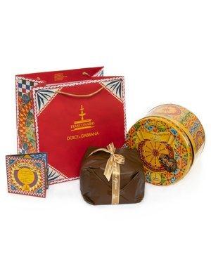 Panettone Dolce & Gabbana castagne e gianduia 1 kg
