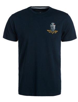 T-shirt Armata di Mare con stampa vintage sul retro