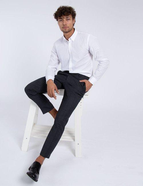 Camicia Richfield elegante - white