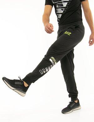 Pantalone EA7 con logo fluo