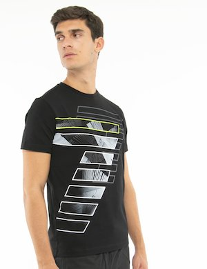 T-shirt EA7 con stampa